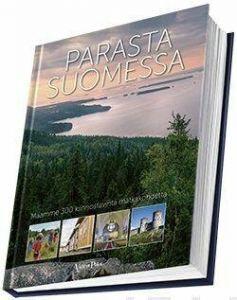 Kirjan Parasta Suomessa kansi.