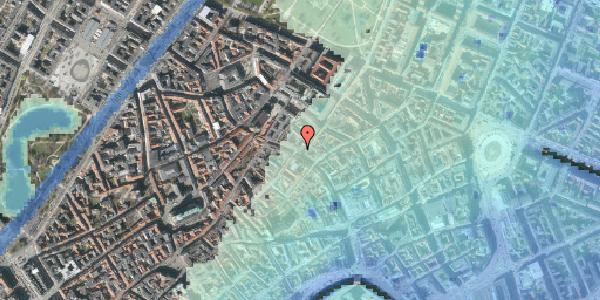 Stomflod og havvand på Købmagergade 42, 2. , 1150 København K
