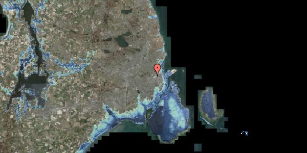 Stomflod og havvand på Bispebjerg Bakke 10, 2400 København NV