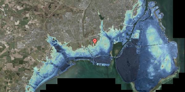 Stomflod og havvand på Alarmpladsen 6B, 2650 Hvidovre