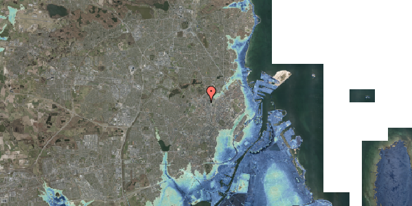 Stomflod og havvand på Glasvej 33, 2. tv, 2400 København NV