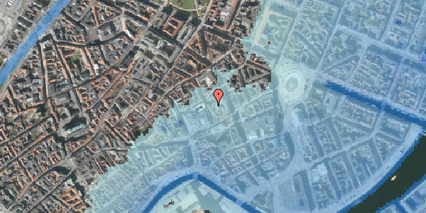 Stomflod og havvand på Pilestræde 10, 4. , 1112 København K