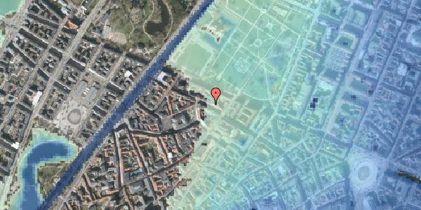 Stomflod og havvand på Åbenrå 16, 3. th, 1124 København K
