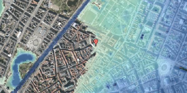 Stomflod og havvand på Suhmsgade 2B, 4. , 1125 København K
