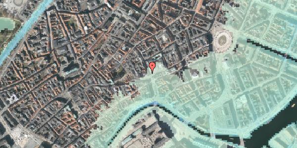 Stomflod og havvand på Købmagergade 1, 2. , 1150 København K