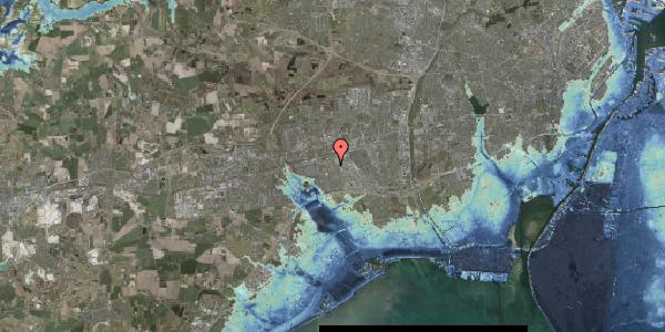 Stomflod og havvand på Grønkløvervænget 53, 2625 Vallensbæk