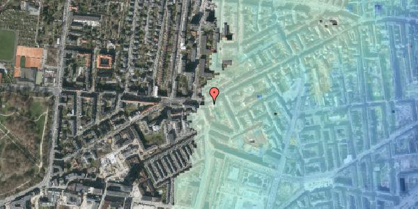 Stomflod og havvand på Vesterbrogade 137A, 1620 København V