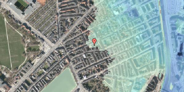 Stomflod og havvand på Rosenvængets Allé 20D, 1. , 2100 København Ø