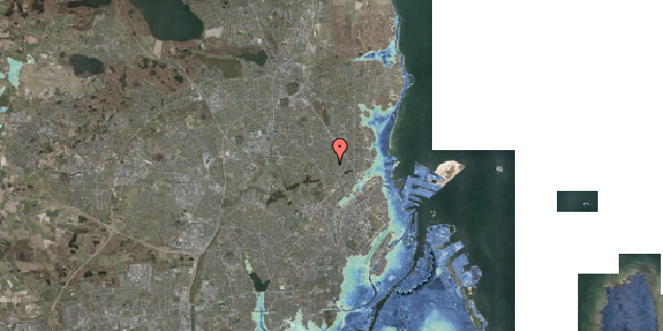 Stomflod og havvand på Rødhalsgangen 22, 2400 København NV