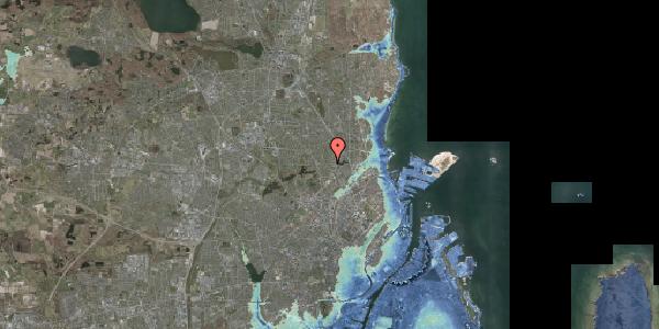 Stomflod og havvand på Banebrinken 101, 2400 København NV