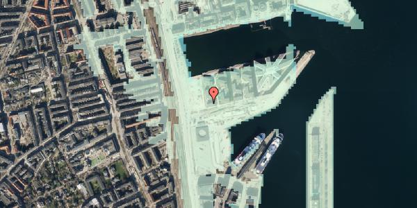 Stomflod og havvand på Marmorvej 7D, 2100 København Ø