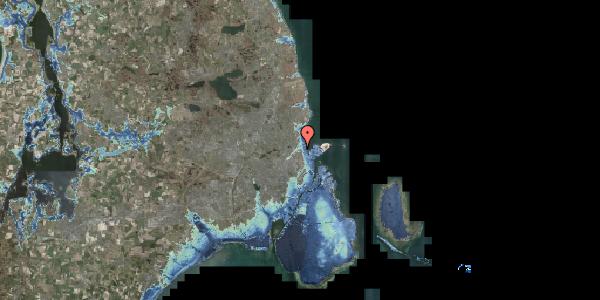 Stomflod og havvand på Svanemøllens Kaserne 50, 2100 København Ø
