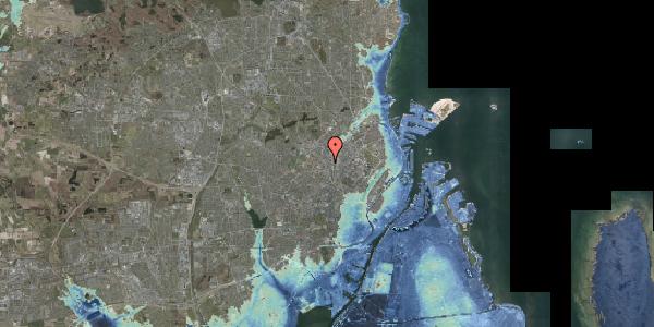 Stomflod og havvand på Hejrevej 33A, 2400 København NV