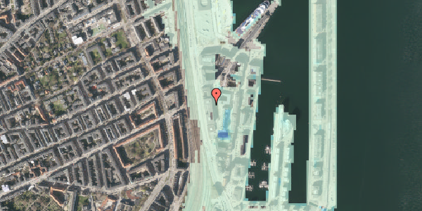 Stomflod og havvand på Amerika Plads 15, 3. , 2100 København Ø