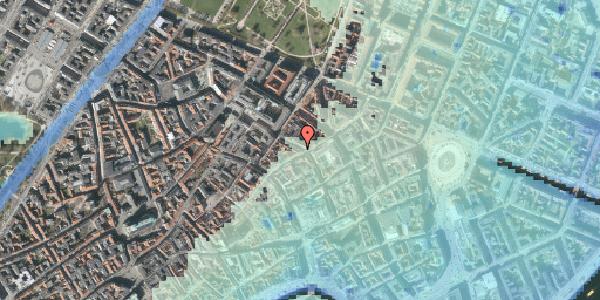 Stomflod og havvand på Pilestræde 37, st. tv, 1112 København K