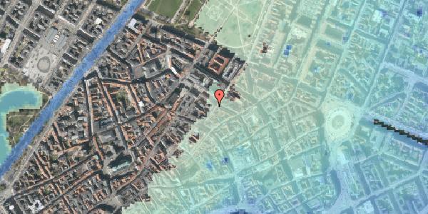 Stomflod og havvand på Klareboderne 5, 1115 København K