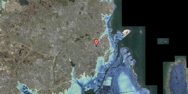 Stomflod og havvand på Lygten 1, 2400 København NV