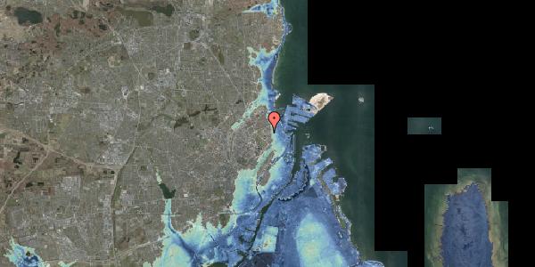 Stomflod og havvand på Østerfælled Torv 7, st. , 2100 København Ø