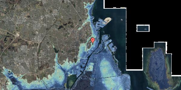 Stomflod og havvand på Hausergade 3, 5. th, 1128 København K