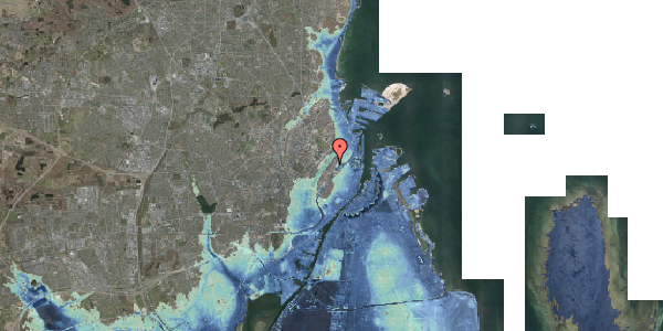 Stomflod og havvand på Abildgaardsgade 18, st. , 2100 København Ø