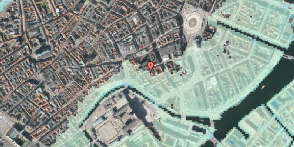 Stomflod og havvand på Admiralgade 15, kl. , 1066 København K