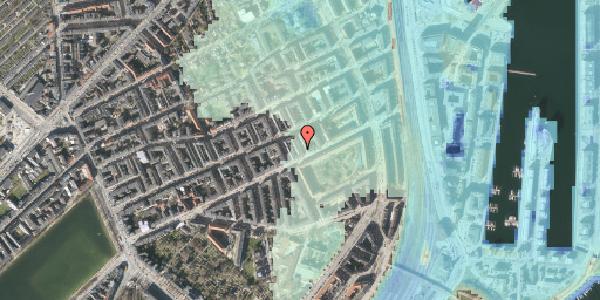 Stomflod og havvand på Aggersborggade 1, 1. th, 2100 København Ø