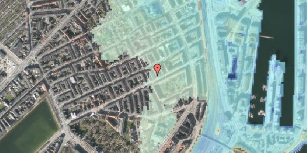 Stomflod og havvand på Aggersborggade 1, 3. tv, 2100 København Ø