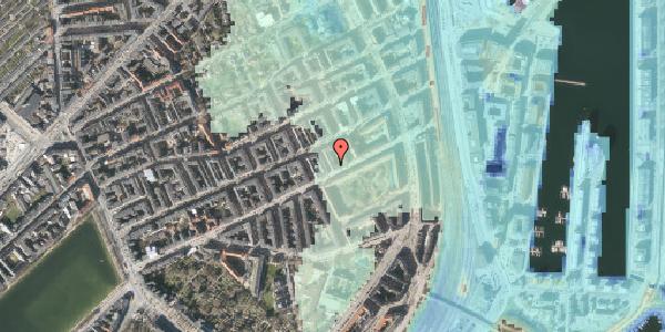 Stomflod og havvand på Aggersborggade 2, 2. tv, 2100 København Ø