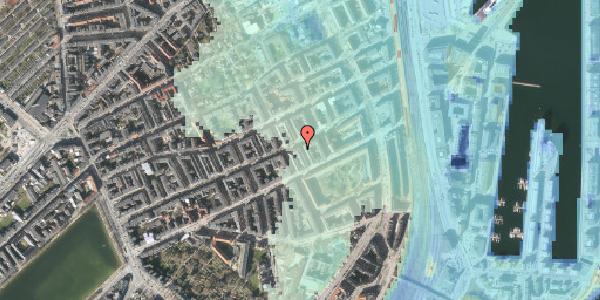 Stomflod og havvand på Aggersborggade 3A, kl. , 2100 København Ø