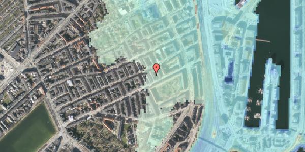 Stomflod og havvand på Aggersborggade 4, 2. tv, 2100 København Ø