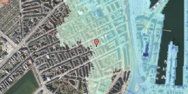 Stomflod og havvand på Aggersborggade 5, 2. tv, 2100 København Ø