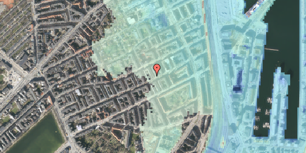 Stomflod og havvand på Aggersborggade 5, 5. , 2100 København Ø