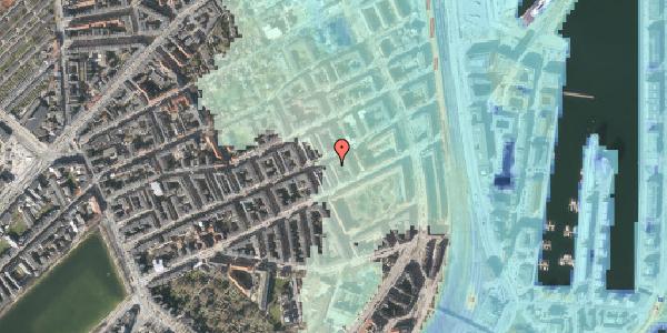 Stomflod og havvand på Aggersborggade 6, kl. , 2100 København Ø