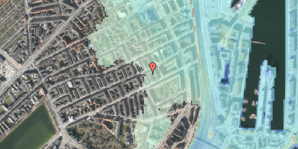 Stomflod og havvand på Aggersborggade 6, 3. th, 2100 København Ø