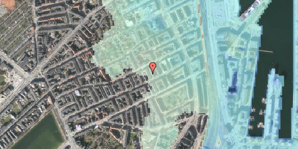 Stomflod og havvand på Aggersborggade 7, 2. tv, 2100 København Ø