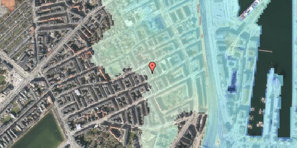 Stomflod og havvand på Aggersborggade 7, 3. tv, 2100 København Ø