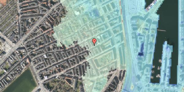 Stomflod og havvand på Aggersborggade 8, 3. th, 2100 København Ø