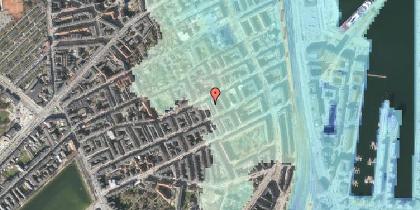 Stomflod og havvand på Aggersborggade 9, 1. th, 2100 København Ø