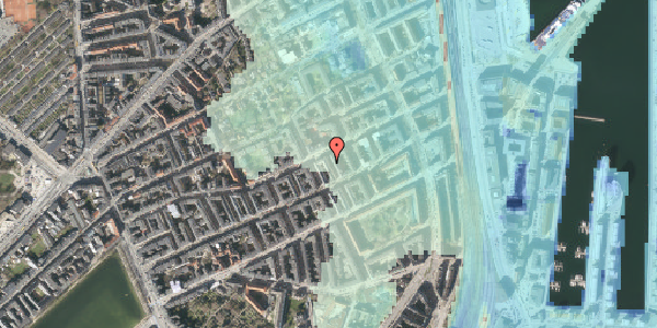 Stomflod og havvand på Aggersborggade 9, 3. th, 2100 København Ø
