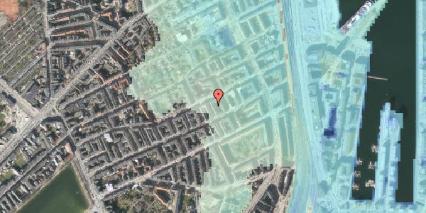 Stomflod og havvand på Aggersborggade 10, st. th, 2100 København Ø
