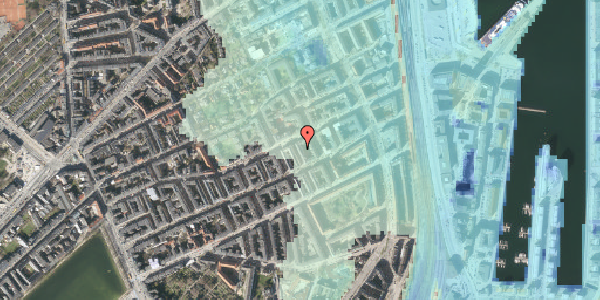 Stomflod og havvand på Aggersborggade 10, st. tv, 2100 København Ø