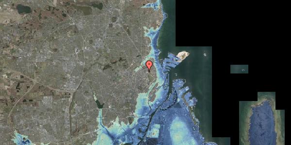 Stomflod og havvand på Aldersrogade 9, 1. tv, 2100 København Ø