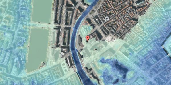 Stomflod og havvand på Axeltorv 6, 3. th, 1609 København V