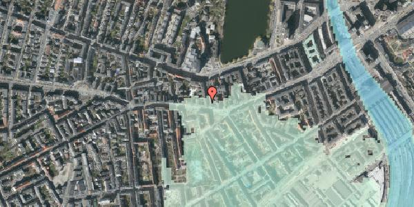 Stomflod og havvand på Bagerstræde 1, 4. , 1617 København V