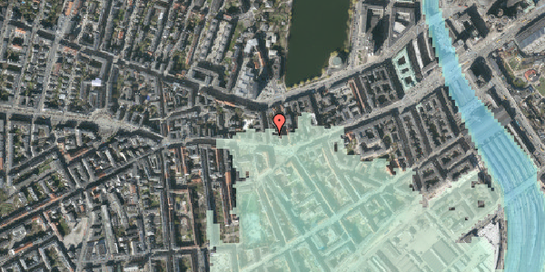 Stomflod og havvand på Bagerstræde 2, 1. tv, 1617 København V