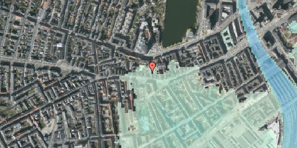 Stomflod og havvand på Bagerstræde 3A, 3. , 1617 København V