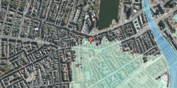 Stomflod og havvand på Bagerstræde 5A, 4. , 1617 København V