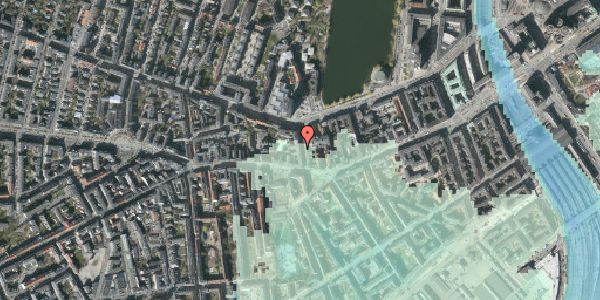 Stomflod og havvand på Bagerstræde 5, 3. tv, 1617 København V