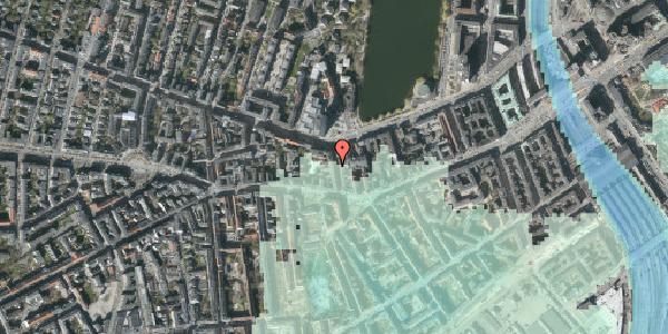 Stomflod og havvand på Bagerstræde 7, 3. tv, 1617 København V