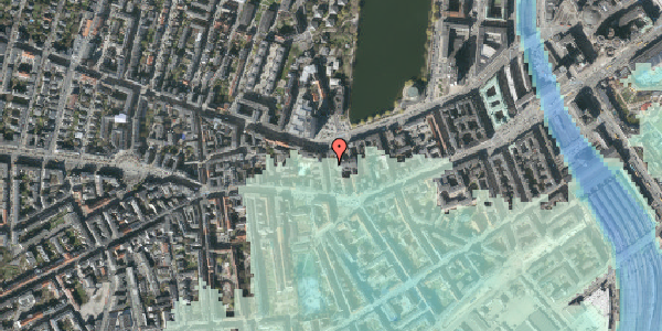 Stomflod og havvand på Bagerstræde 8, 3. th, 1617 København V